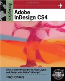 Exploring Adobe Indesign CS4 1st 2008 9781435442009 Front Cover