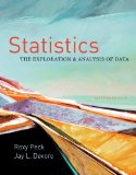 Statistics : the Exploration and Analysis of Data 7th 2011 Revised 9780840058010 Front Cover