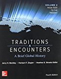 Traditions and Encounters: a Brief Global History Volume 2 with 1-Term Connect Access Card 4th 2015 9781259764011 Front Cover