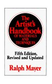 Artist's Handbook of Materials and Techniques 5th 1991 Revised 9780670837014 Front Cover