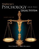 Psychology and the Legal System 7th 2010 9780495813019 Front Cover