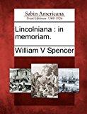 Lincolnian In Memoriam 2012 9781275708020 Front Cover