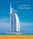 Essentials of Precalculus 1st 2005 9780618447022 Front Cover