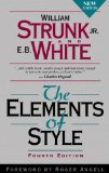Elements of Style 4th 1999 9780205309023 Front Cover