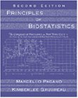 Principles of Biostatistics 2nd 2000 Revised 9780534229023 Front Cover