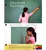 Educational Psychology 2010 9781111357023 Front Cover