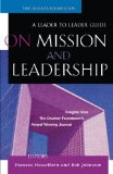 On Mission and Leadership 2002 9780470631034 Front Cover