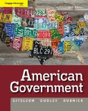 American Government 10th 2011 9781111342036 Front Cover