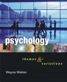 Psychology Themes and Variations 7th 2006 9780495093039 Front Cover