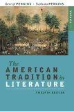 American Tradition in Literature, Volume 1(book Alone)