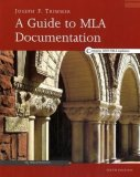Guide to MLA Documentation 6th 2003 9780618338054 Front Cover