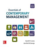 Loose-Leaf for Essentials of Contemporary Management  9781260141054 Front Cover