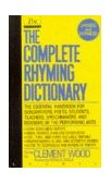 Complete Rhyming Dictionary 1992 9780440212058 Front Cover