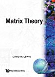 Matrix Theory 1991 9789810239060 Front Cover