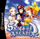 Case art for Skies of Arcadia for Sega Dreamcast