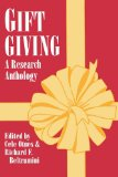 Gift Giving A Research Anthology 1996 9780879727062 Front Cover
