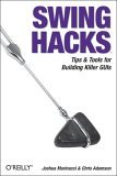 Swing Hacks Tips and Tools for Killer GUIs 2005 9780596009076 Front Cover