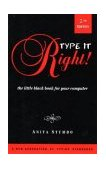 Type It Right! The Little Black Book for Your Computer 1997 9781886110076 Front Cover