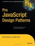Pro JavaScript Design Patterns 2007 9781590599082 Front Cover