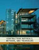 Construction Materials, Methods and Techniques Building for a Sustainable Future 3rd 2010 9781435481084 Front Cover