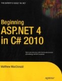 Beginning ASP. NET 4 in C# 2010 2010 9781430226086 Front Cover