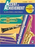 Accent on Achievement, Bk 1 E-Flat Alto Saxophone, Book and CD 1997 9780739005088 Front Cover
