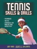 Tennis Skills and Drills 2011 9780736083089 Front Cover