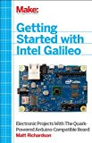 Getting Started with Intel Galileo 2014 9781457183089 Front Cover