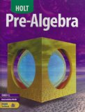 Pre-Algebra  cover art