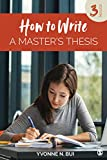 How to Write a Master's Thesis 3rd 2019 9781506336091 Front Cover