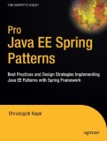 Pro Java EE Spring Patterns Best Practices and Design Strategies Implementing Java EE Patterns with the Spring Framework 2008 9781430210092 Front Cover