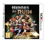 Case art for Heroes of Ruin (Nintendo 3DS)