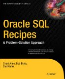 Oracle SQL Recipes A Problem-Solution Approach 2009 9781430225096 Front Cover