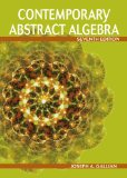 Contemporary Abstract Algebra 7th 2009 9780547165097 Front Cover