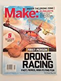 Make: Volume 44 Fun with Drones! 2015 9781457187100 Front Cover