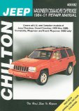 Chilton's Jeep Wagoneer/Comanche/Cherokee 1984-01 Repair Manual 2008 9781563927102 Front Cover