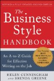Business Style Handbook, Second Edition: an a-To-Z Guide for Effective Writing on the Job 2nd 2012 Revised 9780071800105 Front Cover