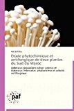Etude Phytochimique et Antifongique de Deux Plantes du Sud du Maroc 2012 9783838176109 Front Cover