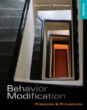 Behavior Modification Principles and Procedures 5th 2011 9781111306113 Front Cover