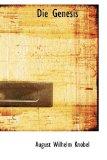 Die Genesis 2009 9781110096114 Front Cover