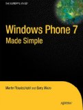 Windows Phone 7 Made Simple 2011 9781430233121 Front Cover