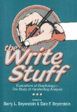 Write Stuff Evaluations of Graphology, the Study of Handwriting Analysis 1992 9780879756123 Front Cover