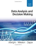 Data Analysis and Decision Making 4th 2010 9780538476126 Front Cover