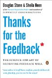 Thanks for the Feedback The Science and Art of Receiving Feedback Well 2015 9780143127130 Front Cover
