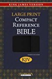 Holy Bible: King James Version, Black/ Silver, Compact, Reference Bible 2012 9781619700130 Front Cover