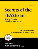 Secrets of the TEAS V Exam Study Guide TEAS Test Review for the Test of Essential Academic Skills 2015 9781609710132 Front Cover