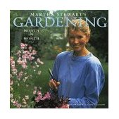 Martha Stewart's Gardening Month by Month 1991 9780517574133 Front Cover