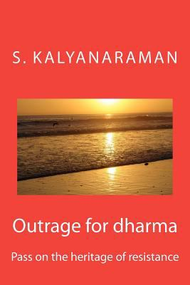 Outrage for Dharm 2012 9780982897133 Front Cover