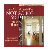 Not So Big Solutions for Your Home 2002 9781561586134 Front Cover
