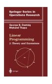Linear Programming Theory and Extensions 2003 9780387986135 Front Cover